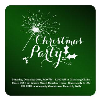 Invitation de fête de Noël de Starlight