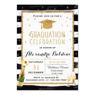 Invitation de fête de remise des diplômes