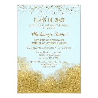 Invitation de fête de remise des diplômes de