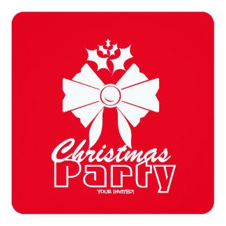 Invitation de fête de vacances de Noël de fête de