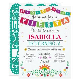 Invitation de fiesta - invitation d'anniversaire