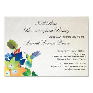 Invitation de flottement de colibri
