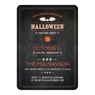 Invitation de Halloween : Spooktacular -