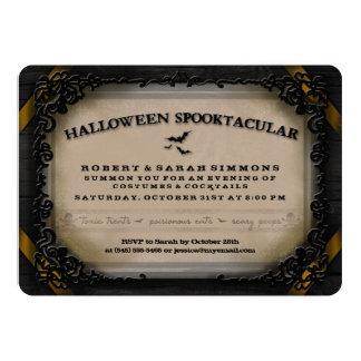 Invitation de Halloween Spooktacular de costumes