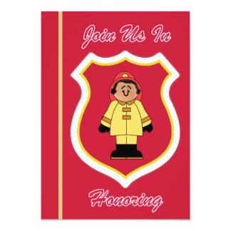 Invitation de la retraite du sapeur-pompier