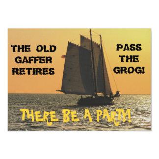 Invitation de la retraite d'un marin