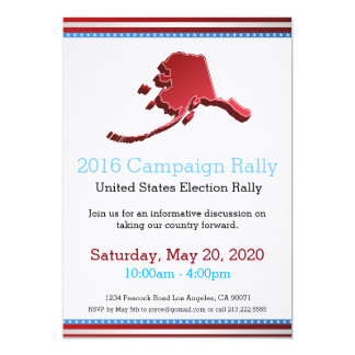 Invitation de l'Alaska de 2016 campagnes