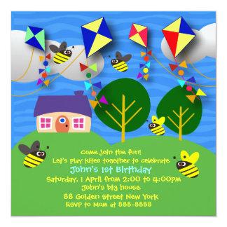 Invitation de l'anniversaire de l'enfant : 058