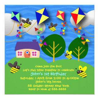 Invitation de l'anniversaire de l'enfant : 058 cer
