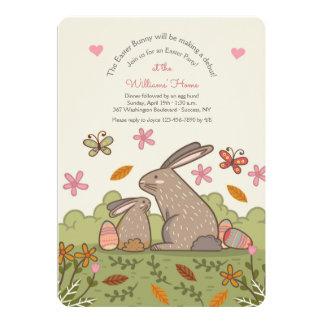 Invitation de lapins de Brown