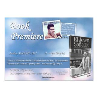 Invitation de livre d'EL Joven Sonador