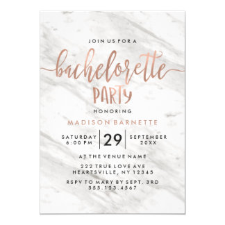 Invitation de marbre et rose de partie de