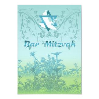 Invitation de Mitzvah de barre pour la cérémonie