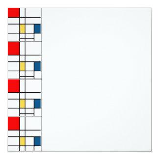 Invitation de Mondrian