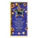Invitation de partie de costume de Hallowen de l'a Cartes De Vœux Avec Photo