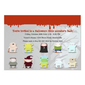 Invitation de partie de Halloween d'amis de