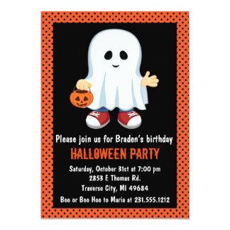 Invitation de partie de Halloween d'enfants