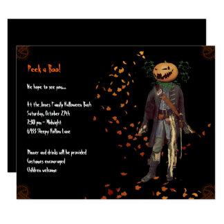 Invitation de partie de Jack Halloween