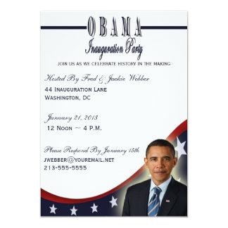 Invitation de partie de l'inauguration 2013
