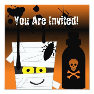 Invitation de partie de maman de Halloween