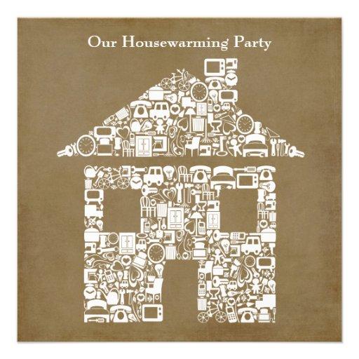 invitation de partie de pendaison de cr maill re carton d 39 invitation 13 33 cm zazzle. Black Bedroom Furniture Sets. Home Design Ideas