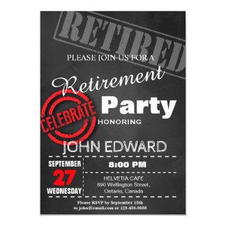 INVITATION DE PARTIE DE RETRAITE