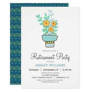 Invitation de partie de retraite de la femme