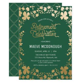 Invitation de partie de retraite, invitation de