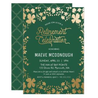 Invitation de partie de retraite, petit invitation