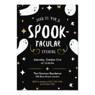Invitation de partie de Spooktacular Halloween