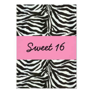 Invitation de partie de sweet sixteen