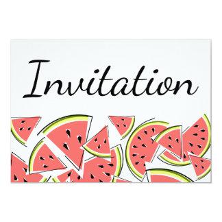 Invitation de pastèque