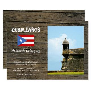 Invitation de Porto Rico