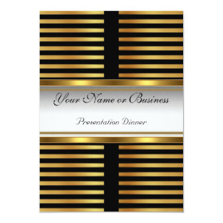 Invitation de présentation d'affaires carton d'invitation  12,7 cm x 17,78 cm