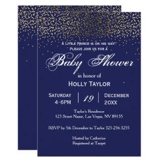 Invitation de prince baby shower