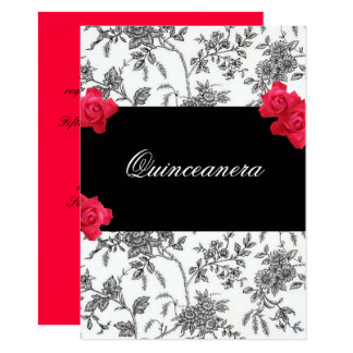Invitation de Quinceanera/bonbon quinze