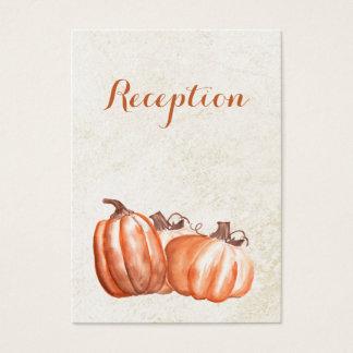 invitation de réception de mariage de automne de