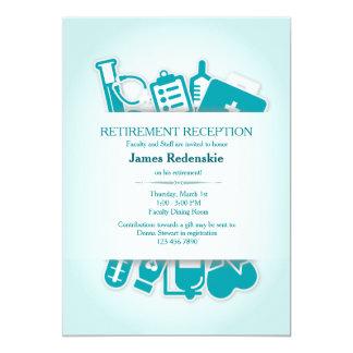 Invitation de retraite de fournitures médicales