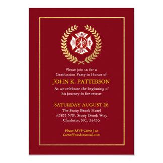 Invitation de retraite de l'obtention du diplôme |