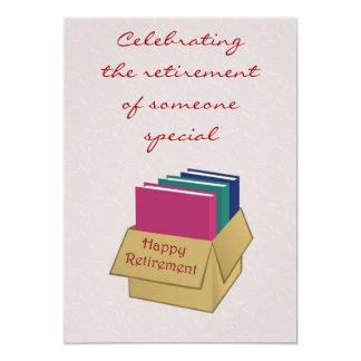 Invitation de retraite pour le secrétaire