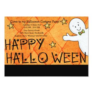Invitation de salutation de partie de Halloween de