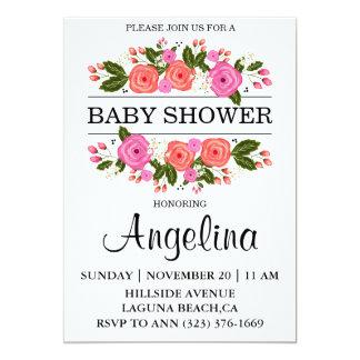 Invitation de semeur de bébé