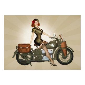 Invitation de sergent Davidson Army Motorcycle