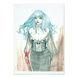 Invitation de Shannon de vampire Carton D'invitation 12,7 Cm X 17,78 Cm