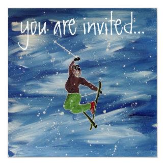 Invitation de ski