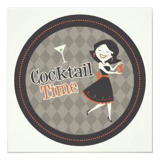 Invitation de temps de cocktail