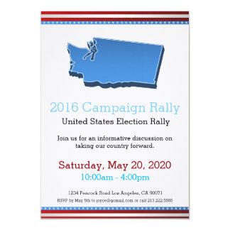 Invitation de Washington de rassemblement de 2016