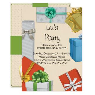 Invitation d'échange de cadeau