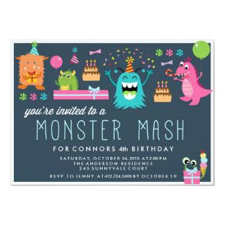 Invitation d'INVITATION de PARTIE d'ANNIVERSAIRE