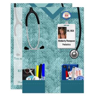 Invitation d'obtention du diplôme de soins